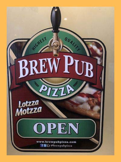 Serving Brew Pub Pizza for $10 per Pizza!
